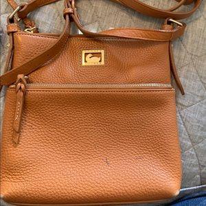 Dooney Bourke  cross body bag authentic leather